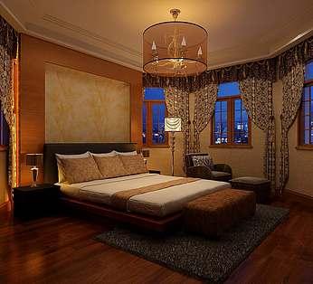 异形卧室设计