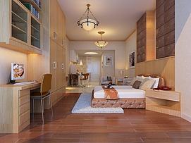 公寓空间整体模型