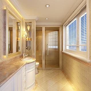 浴室整体模型