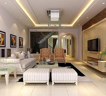 简约别墅客厅设计