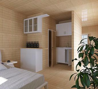 木屋设计院样板房