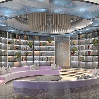 图书室整体模型