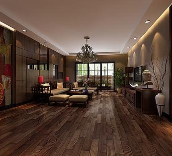 东南亚客厅