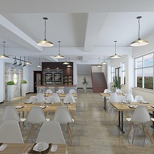 餐饮区整体模型