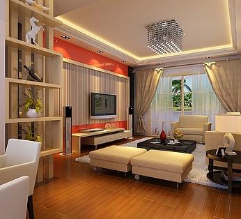 现代小客厅