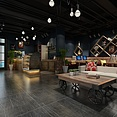 咖啡厅3d模型