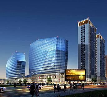 艺术商业住宅综合建筑