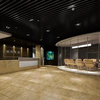 办公会议室整体模型