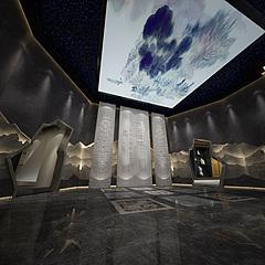 博物馆大厅3D模型