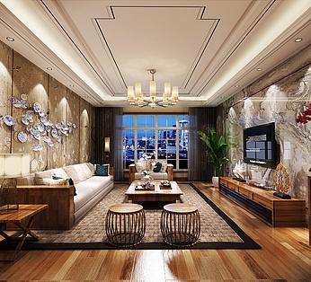 新中式家装整体