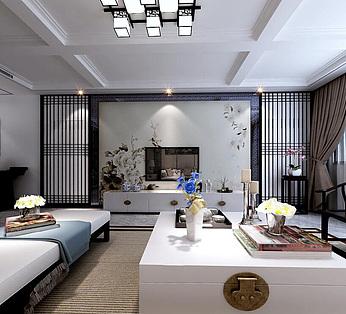 中式家装整体