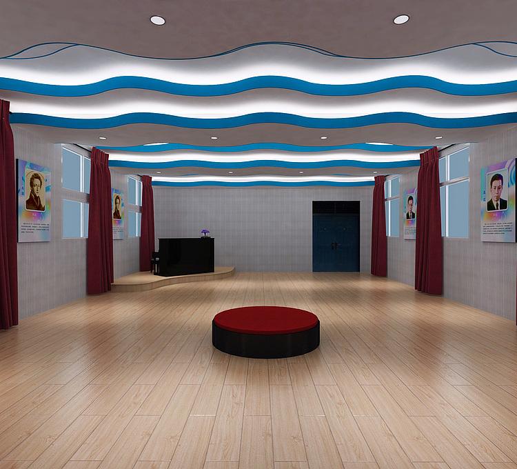 歌咏厅排练室模型