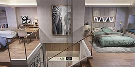loft风格家装整体整体模型