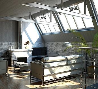 现代简约客厅方案