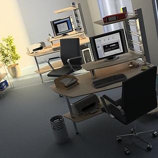 办公室公司整体整体模型