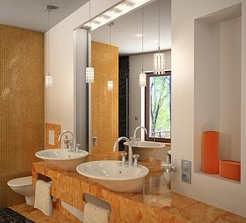 现代家装洗手盆