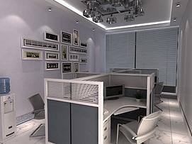 办公室整体模型