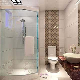 <font class='myIsRed'>卫生间</font>淋浴房整体模型