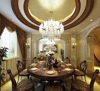客厅餐厅方案