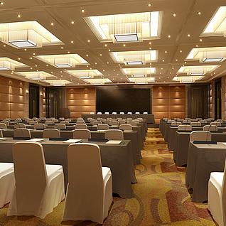 会议厅整体模型