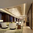 现代时尚精美客厅3d模型