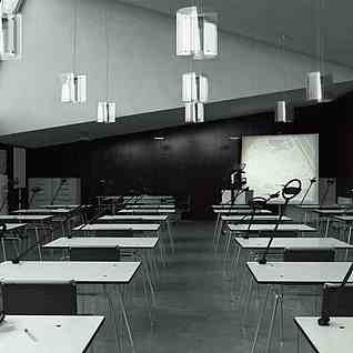 现代会议室教室整体模型