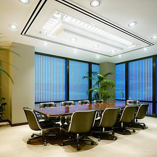 会议室整体模型