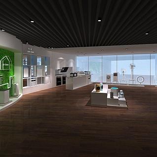 智能小家电展厅整体模型
