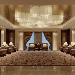 豪华会议室整体模型