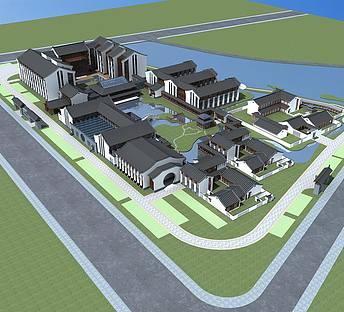 中式酒店规划