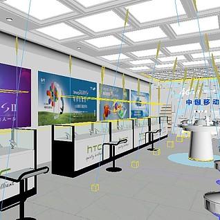 手机店3d模型