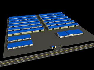 厂区3d模型