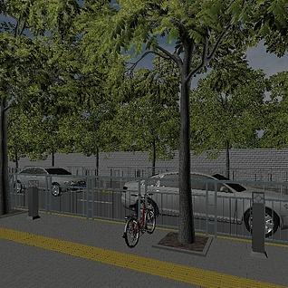 马路3d模型