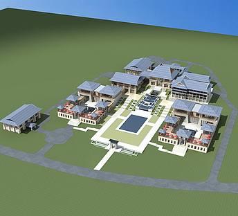 新中式酒店规划