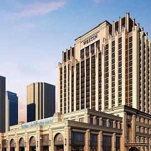 歐式酒店整體模型