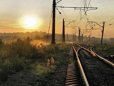 現代鐵路整體模型