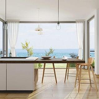 现代厨房整体模型