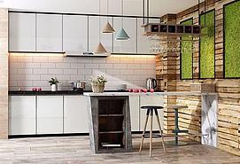 <font class='myIsRed'>现代</font>开放式厨房整体模型