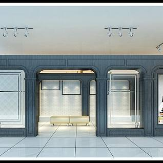 服装店3d模型