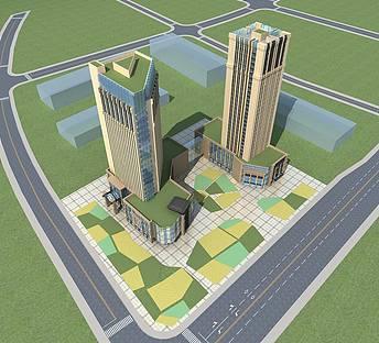 高层商业办公楼