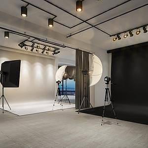 摄影棚3d模型