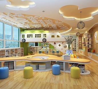 幼儿园预览室