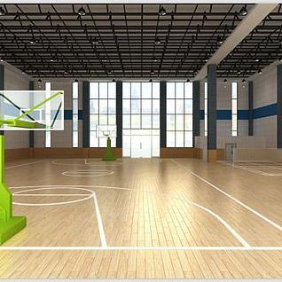 室内体育馆整体模型