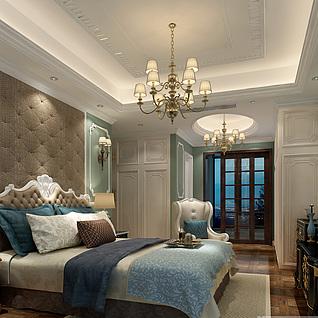 客餐厅卧室3d模型