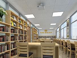 小型阅读室整体模型