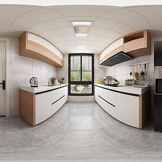 厨房全景模型3d模型