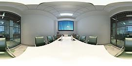 会议室全景模型整体模型