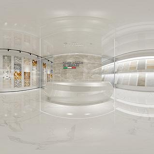 瓷砖展厅全景模型整体模型