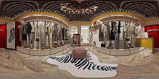 服裝店全景模型3d模型