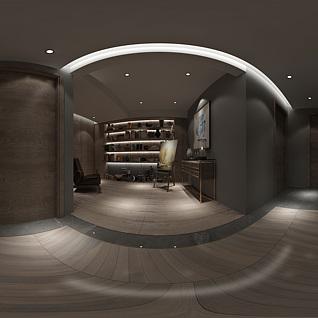 楼道全景3d模型